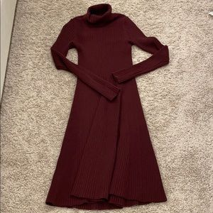 Banana Republic Ribbed Sweater Dress
